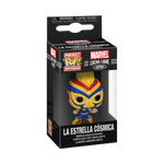 Box image of La Estrella Cósmica - Marvel Lucha Libre Edition pop keychain