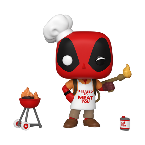 Front image of Backyard Griller Deadpool pop