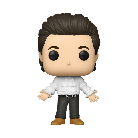 Front image of Jerry in Puffy Shirt - Seinfeld pop