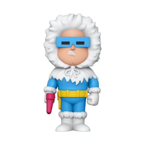 Front image of Captain Cold Vinyl Soda