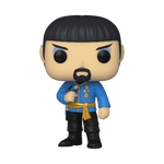 Front image of Spock in Mirror Mirror Outfit - Star Trek pop