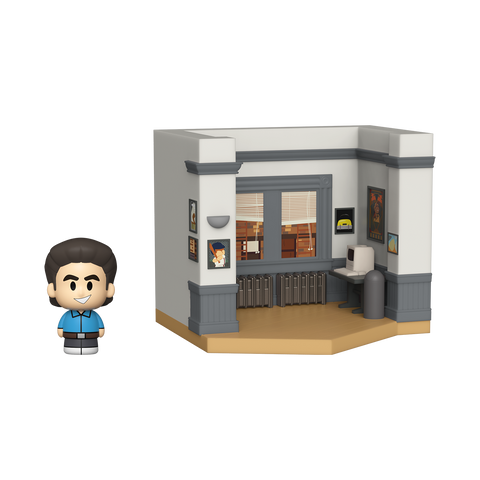 Front image of Jerry's Apartment - Jerry w/ Chase - Seinfeld mini moment