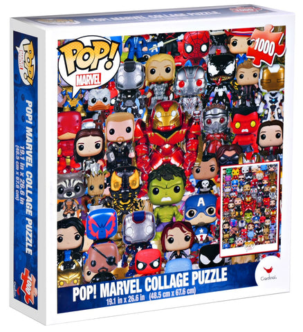 POP Marvel Collage Puzzle