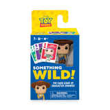 Front image of Something Wild! Disney Toy Story - Woody card game