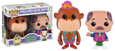POP Animation: Neon Magilla Gorilla & Mr. Peebles 2-pack