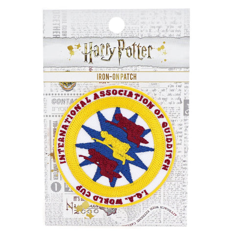 Harry Potter - International Association of Quidditch Iron-On Patch