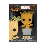 Front box image of Baby Groot w/ Chase - Guardians of the Galaxy pop pin