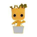 Front image of Baby Groot w/ Chase - Guardians of the Galaxy pop pin