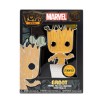 Front box image of Baby Groot w/ Chase - Guardians of the Galaxy pop pin chase variant