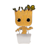 Front image of Baby Groot w/ Chase - Guardians of the Galaxy pop pin chase variant