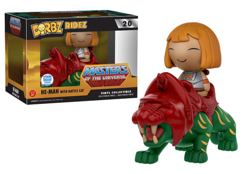 Dorbz Ridez: He-Man with Battle Cat