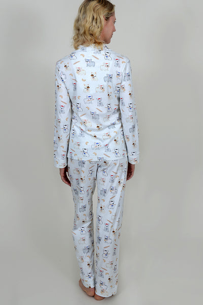 Pardon My Frenchie Classic Tailored PJ