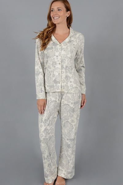 Bandanna Print Classic Tailored Pj