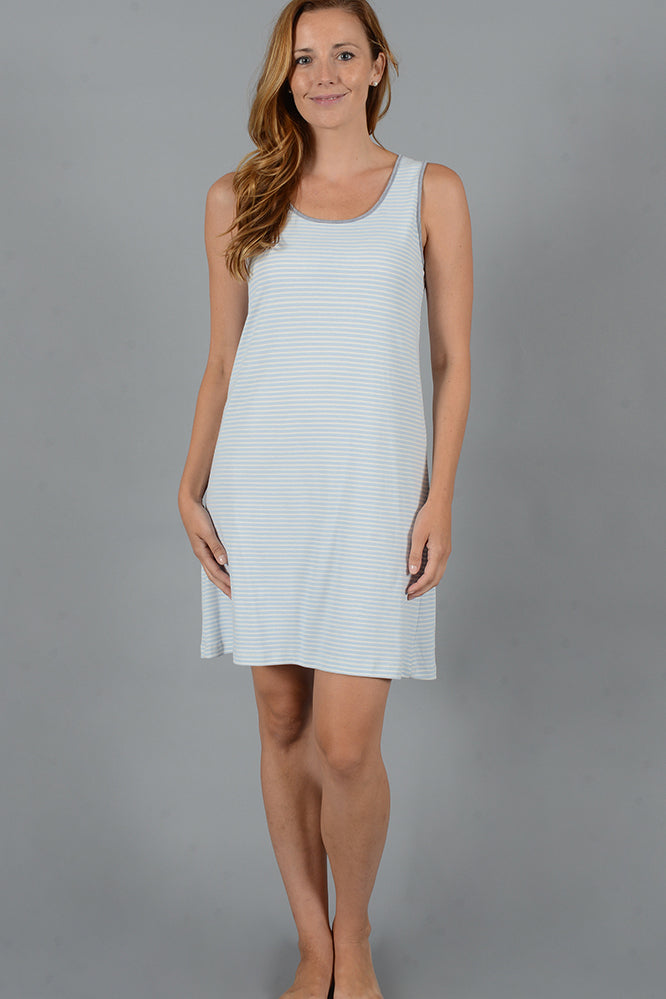 Stripe Collection Short Tank Gown