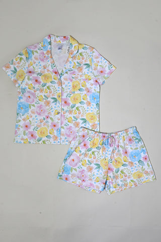 Butterfly Floral Shorty PJ