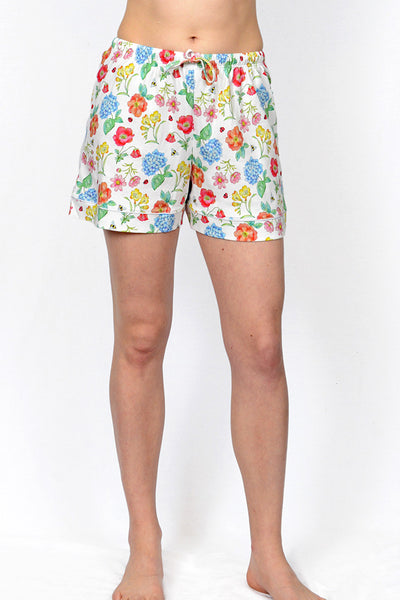 Botanical Button Down Shorty PJ