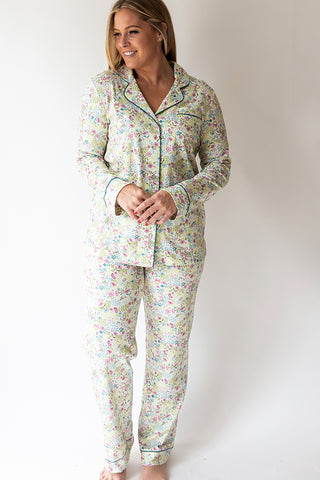 English Floral Long Pj Pant