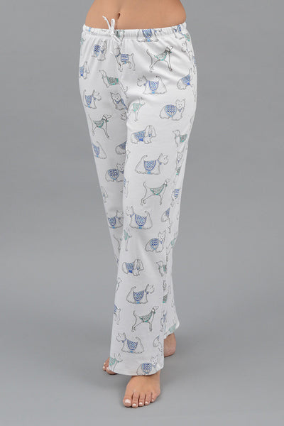 Pima Paws Long Pj Pant