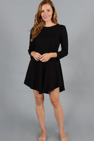 Long Sleeve Lounge Dress