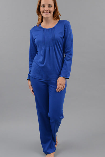 Classic Pleated Long Sleeve PJ