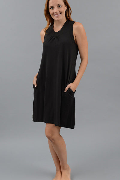 Gathered Tank Gown