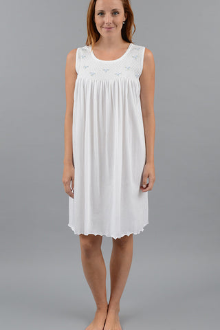 Smocked Short Tank Gown