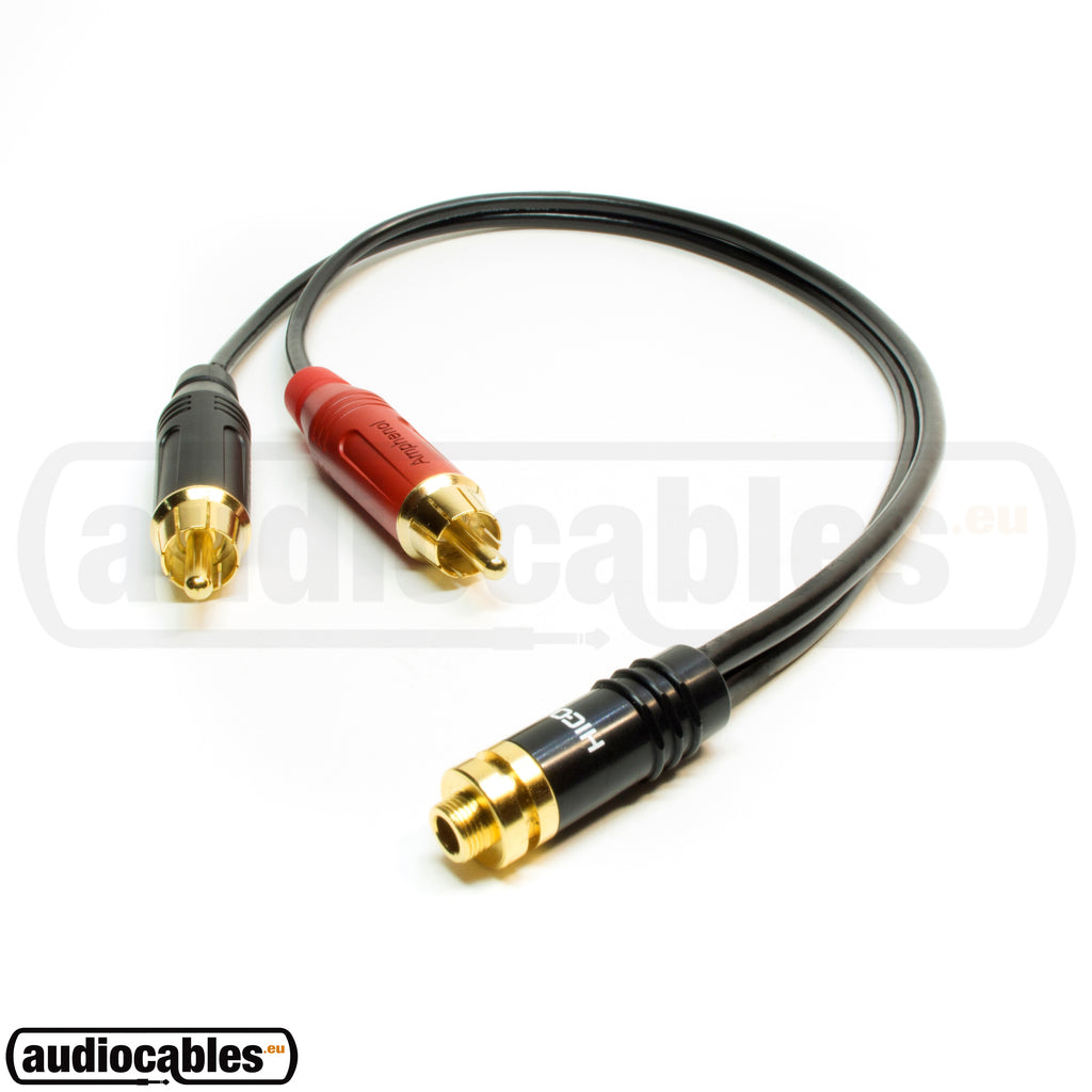 Sommer Female Mini Jack To RCA Extension Cable