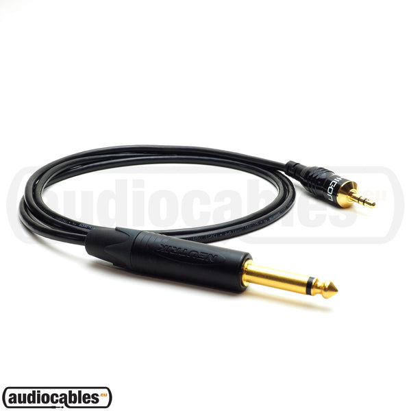 Sommer Cable w/ Hicon Gold Mini Jack To Neutrik Gold Mono Jack