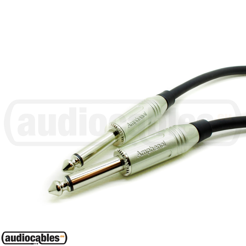 Klotz Instrument Cable w/ Amphenol 1/4'' Jack Connectors