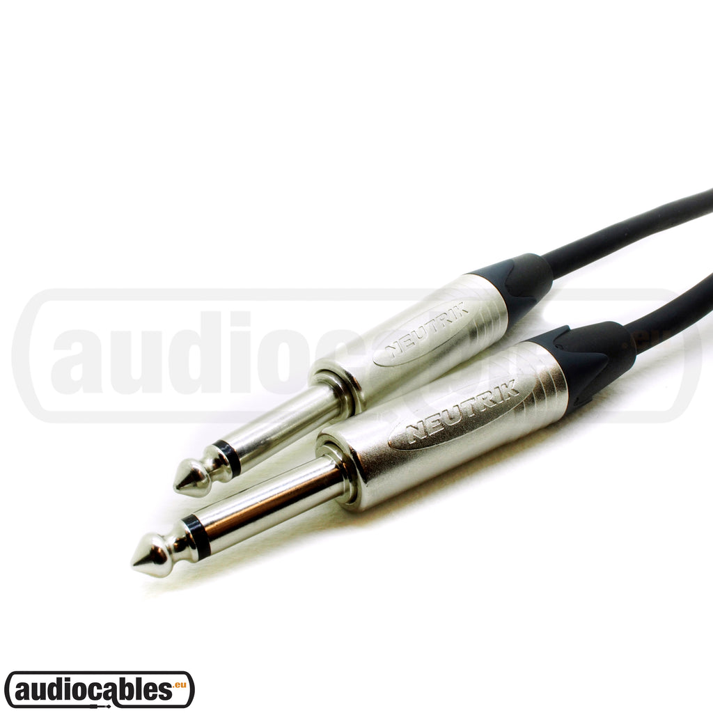 Klotz Instrument Cable w/ Neutrik Plugs