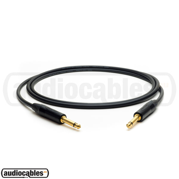 Mogami 2524 Instrument Cable w/ Neutrik Gold Plugs