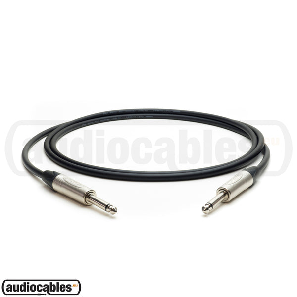 Mogami 2524 Instrument Cable w/ Neutrik Plugs