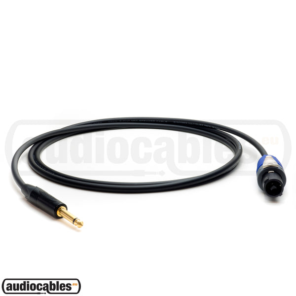 Mogami 3082 Speaker Cable (2x2.00) w/ Neutrik speakON Connector & 1/4'' Jack