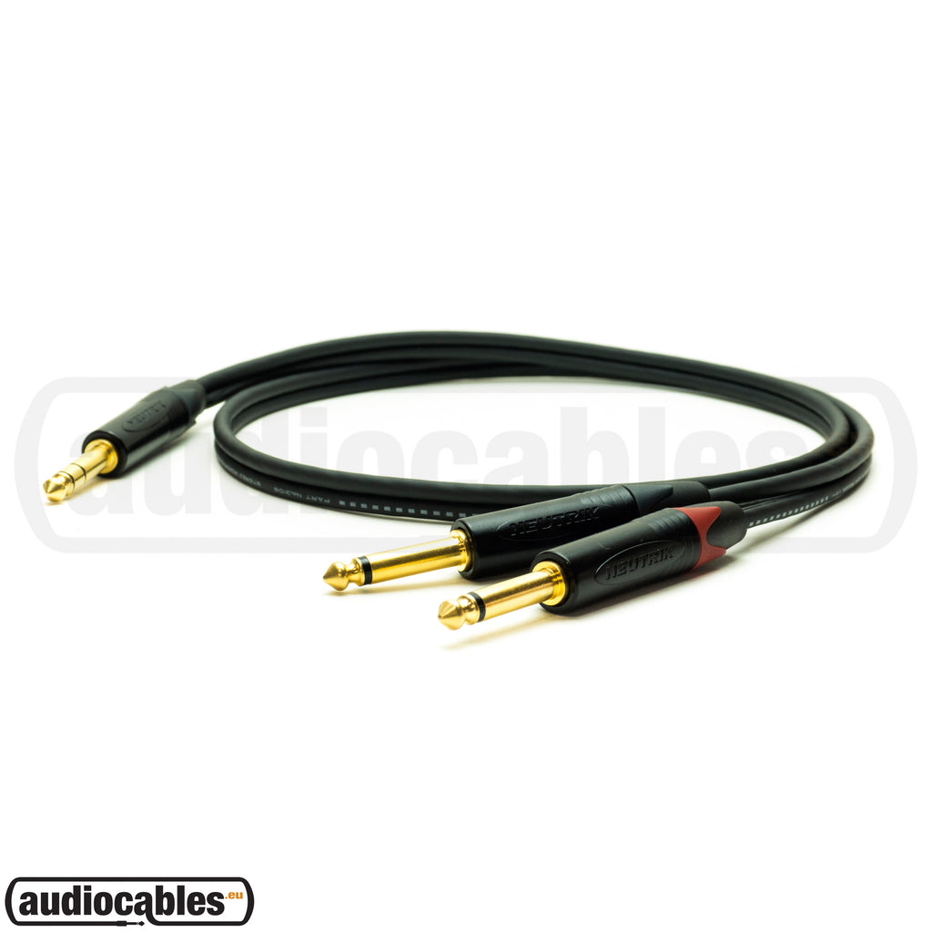 Mogami Y Insert (Send - Return) Cable w/ Gold Neutrik Connectors