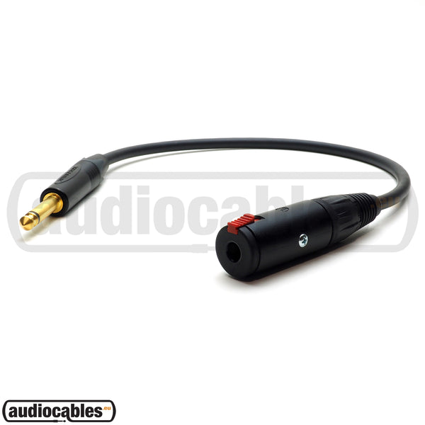 Mogami 2524 Instrument Extension Cable w/ Gold Neutrik Connectors