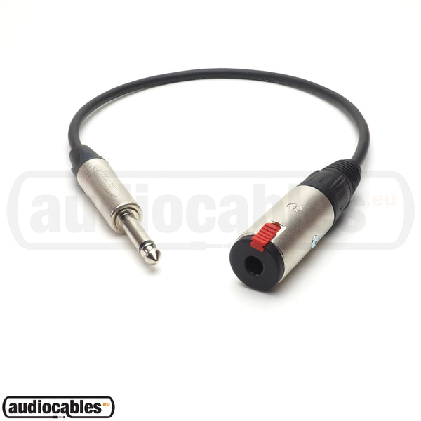 Mogami 2524 Instrument Extension Cable w/ Neutrik Connectors