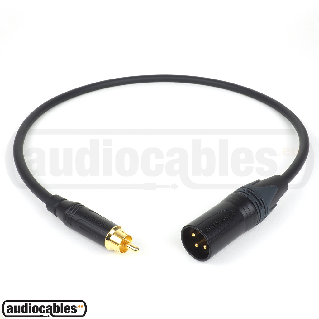 Mogami 2549 RCA to Male XLR Cable