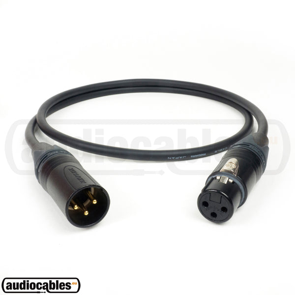 Mogami 2582 Microphone Cable w/ Gold Neutrik XLR Connectors