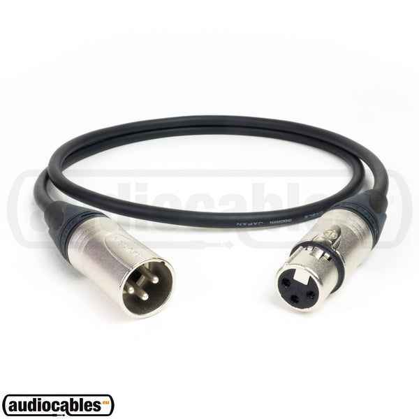 Mogami 2582 Microphone Cable w/ Neutrik XLR Connectors