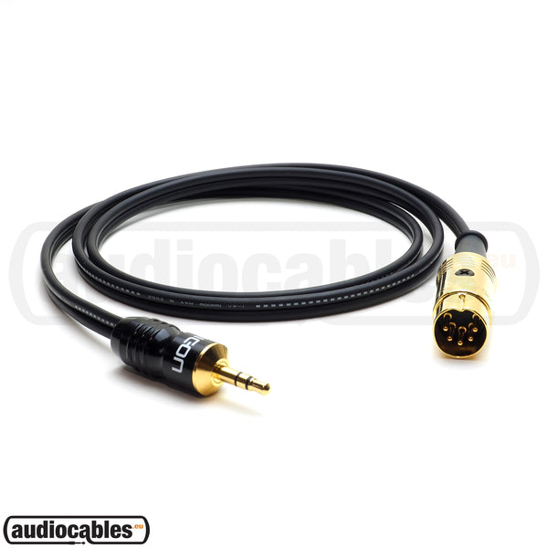 Mogami 2947 - 5 Pin Din to Mini Jack Cable for NAIM, QUAD Amps