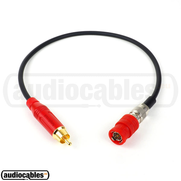 Mogami 2964 BNC to RCA S/PDIF75 Ohm High Definition Cable