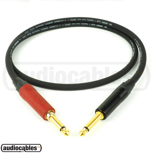 Sommer The Spirit LLX Instrument Cable w/ Neutrik Gold Plugs (Silent)