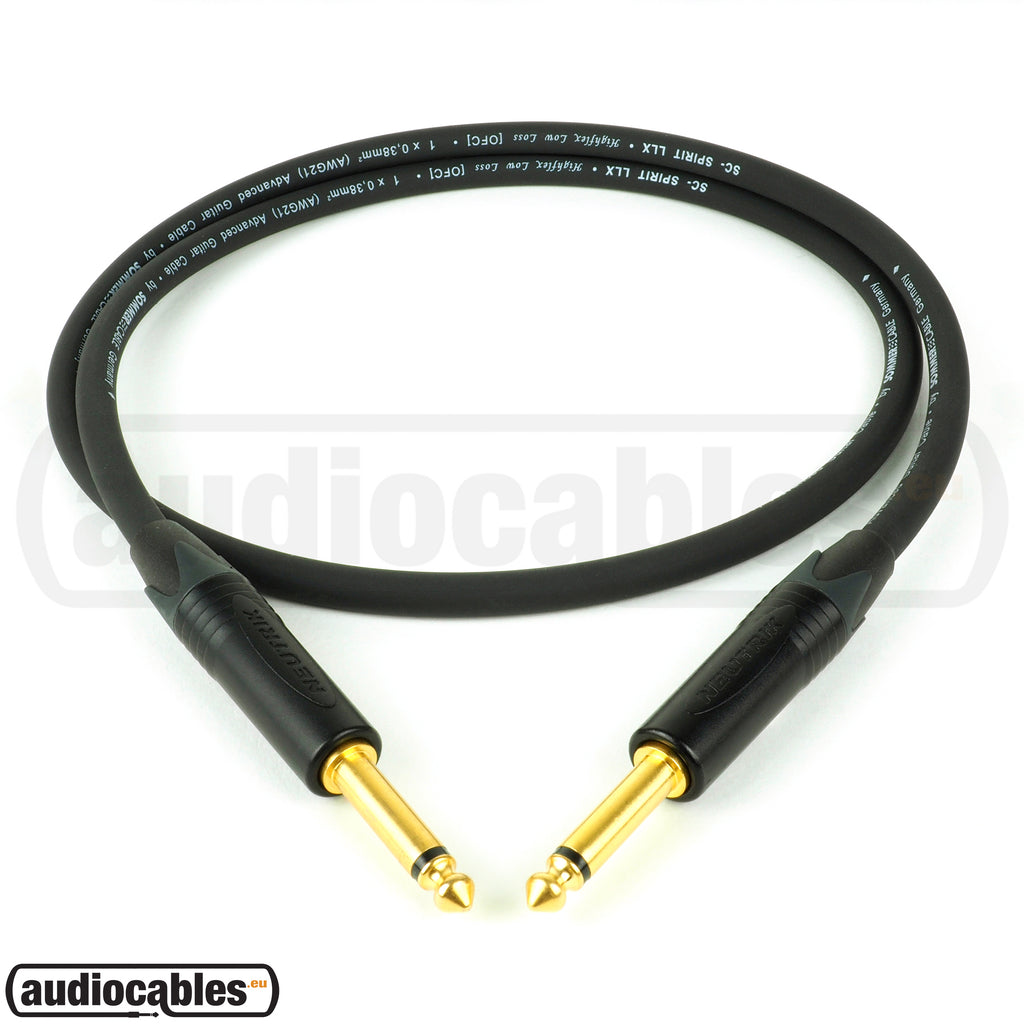 Sommer The Spirit LLX Instrument Cable w/ Neutrik Gold Plugs