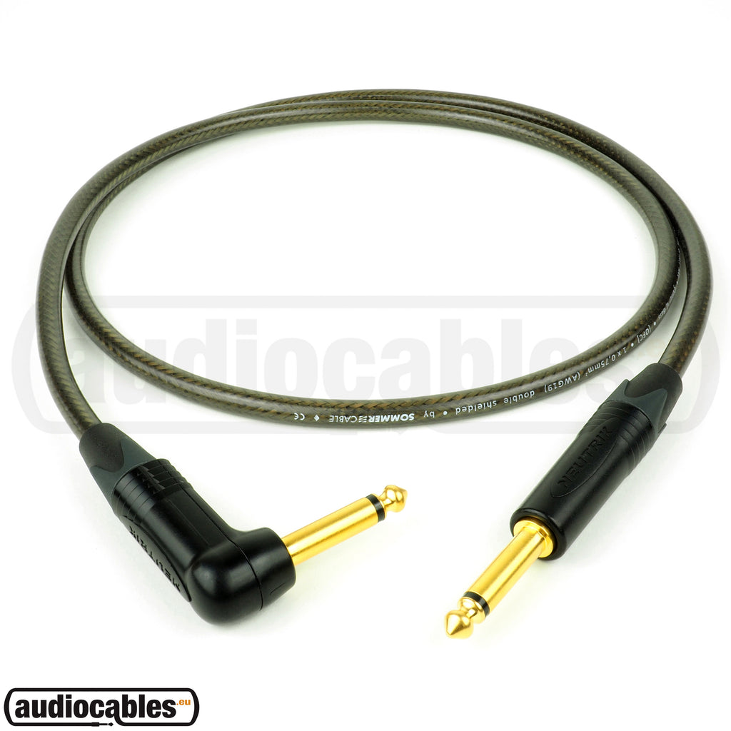 Sommer The Spirit XXL Guitar Cable w/ Neutrik Gold Plugs (Single Angled)