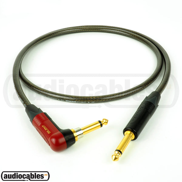 Sommer The Spirit XXL Guitar Cable w/ Neutrik Plugs (Silent & Single Angled)