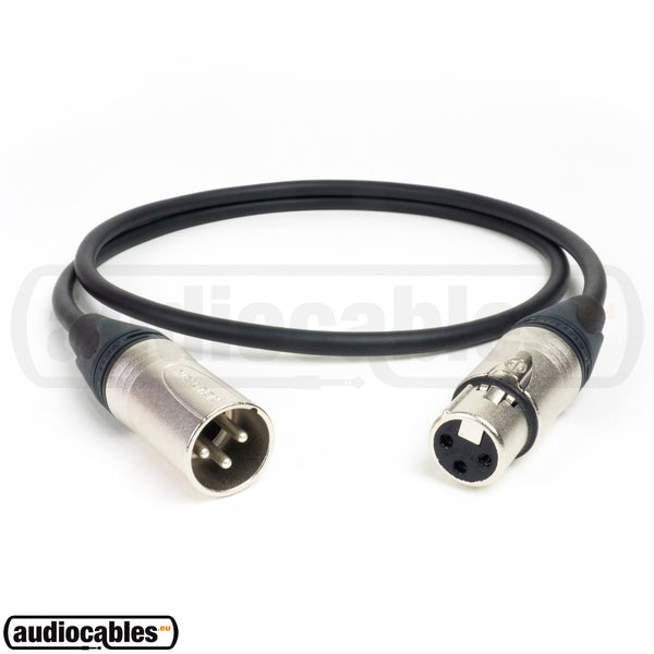 Sommer Square 4-Core MKII Microphone Cable w/ Neutrik XLR Connectors