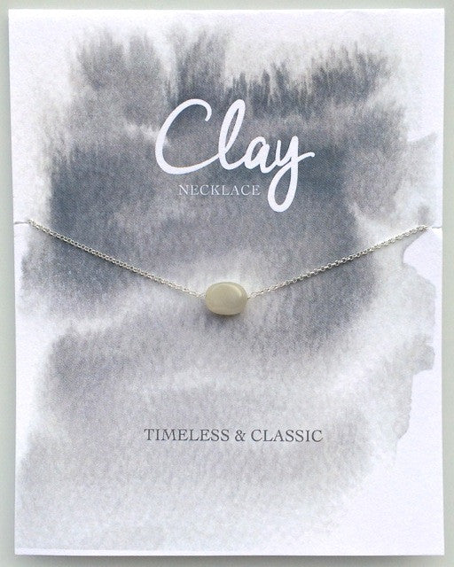 Clay Necklace