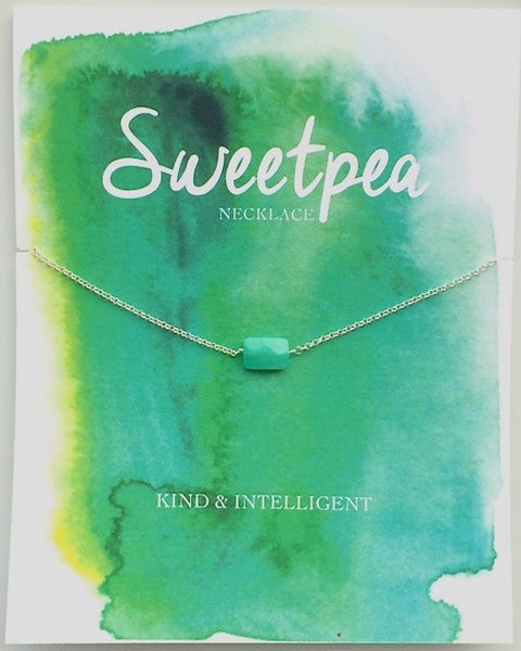 Sweetpea Necklace