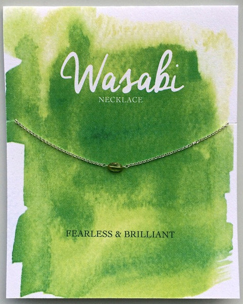 Wasabi Necklace