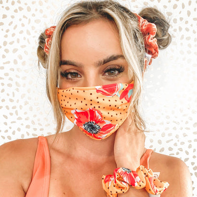 Floral Face Masks (Limited Edition) Face Masks Kini Bands
